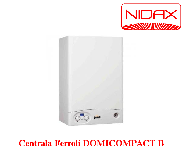 Centrala termica in condensare ferroli domicompact b for Ferroli domicompact