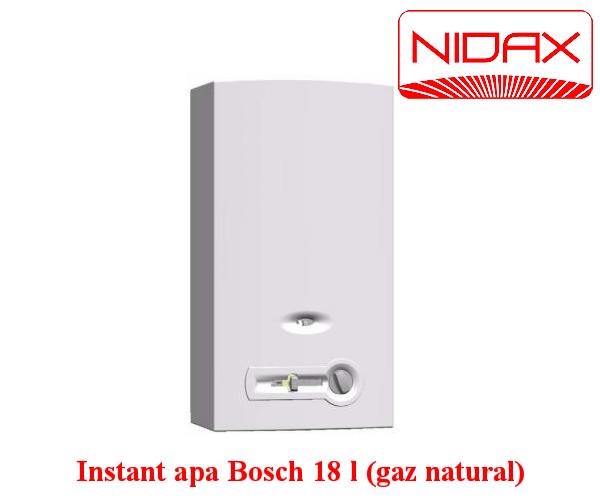 Aparat instant de apa - bosch 18 l (gaz natural)