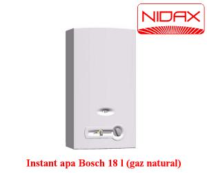 Poza 1 Aparat instant de apa - bosch 18 l (gaz natural)