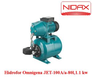 poza Hidrofor -JET-100 A/a - 80Litri/pompa 1,1 kw