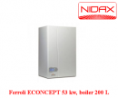 Centrala termica cu tiraj fortat Ferroli ECONCEPT 51 A(WF)BOILER 200L BIVALENT