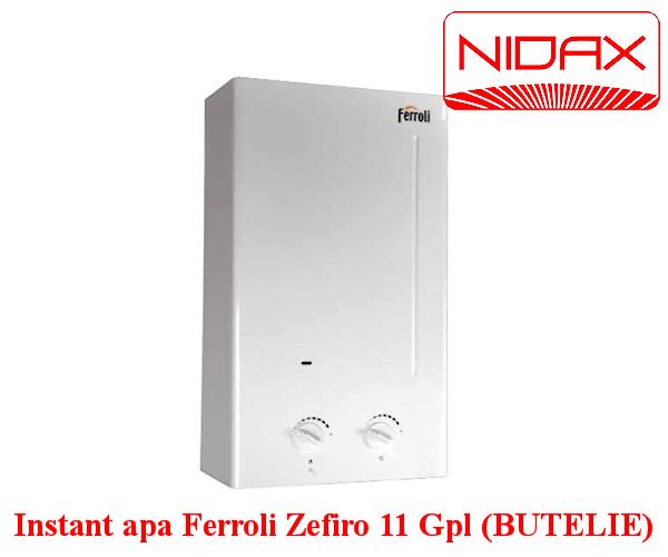 Aparat instant de apa Ferroli Zefiro 11 Gpl (BUTELIE)