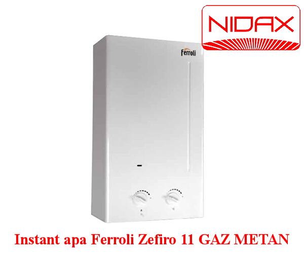 Aparat instant de apa Ferroli Zefiro 11 l gaz metan