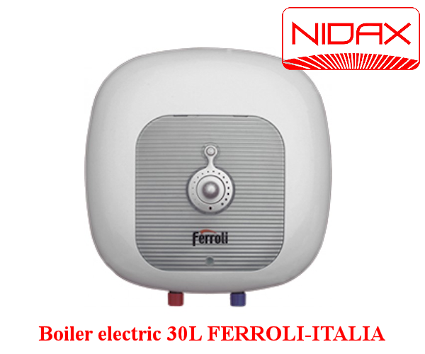 boiler electric 30 l ferroli italia. Black Bedroom Furniture Sets. Home Design Ideas