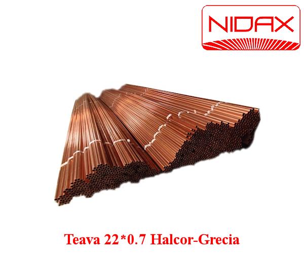 Teava 22*0.7  Halcor-Grecia