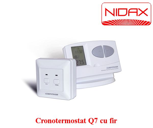 CRONOTERMOSTATE Q7 cu fir