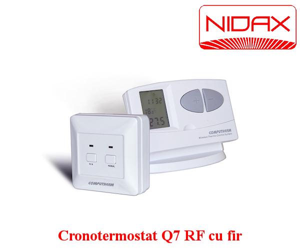 cronotermostat Q7 RF cu fir