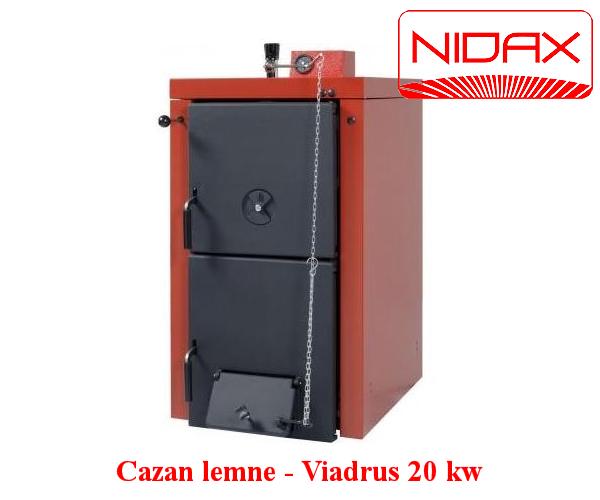 Cazan lemne - VIADRUS 20 KW