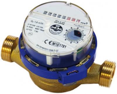 Apometru(Contor) monojet cu cadran uscat antimagnetic APATOR JS 1.6 SMART +1 /2 AR ,R 100