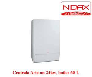 poza Centrala termica - ariston 24kw+boiler 60l