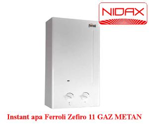 poza Aparat instant de apa Ferroli Zefiro 11 l gaz metan