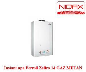 poza Aparat instant de apa pe gaz Zefiro 14 l FERROLI GN