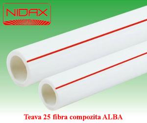 poza Teava 25 fibra compozita ALBA