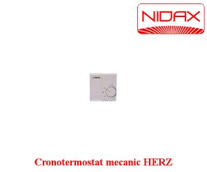 poza cronotermostat mecanic HERZ