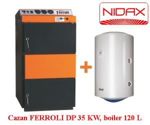 poza Cazan FERROLI DP 35 KW, boiler 120L