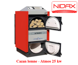 poza Cazan lemne gazeificare - ATMOS 25 KW