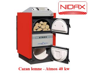 poza Cazan lemne - ATMOS 40 KW
