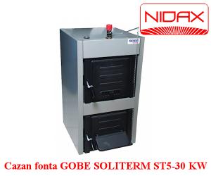 poza Cazan fonta GOBE Soliterm ST5 30 kW