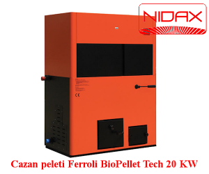poza Centrala pe peleti pentru incalzire centrala BioPellet Tech 30 KW